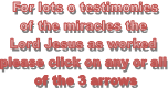 For lots o testimonies